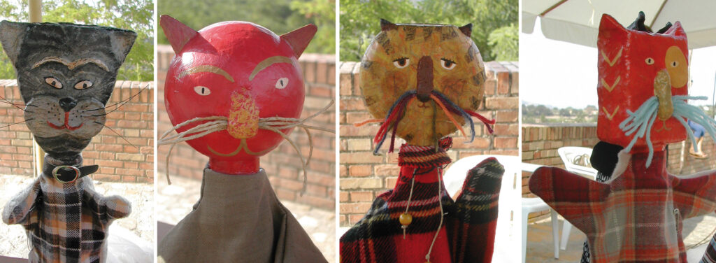cat puppets